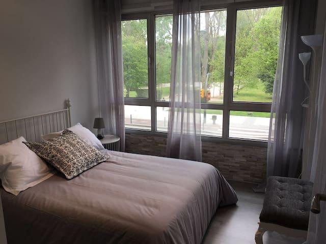 Precioso apartamento a un minuto a pie de la playa - Gijón - Daire