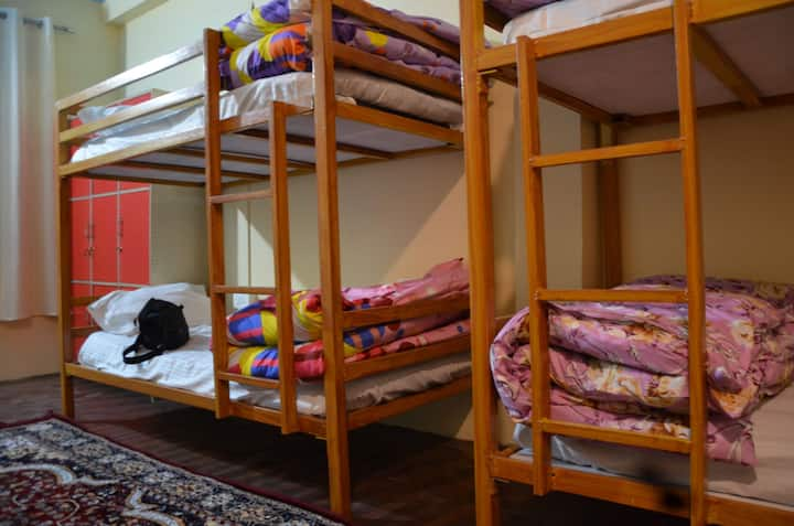 8 Bed Mix Dormitory for Backpackers