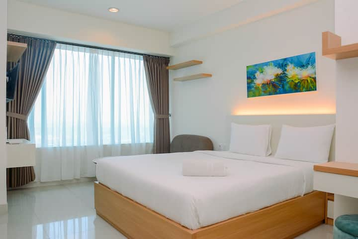 Simple Studio Apartment at Grand Kamala Lagoon