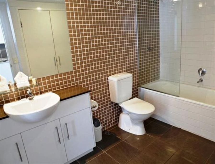 Two way Bathroom