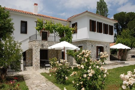 Villa Befani houses at Mount Pelion - Chorto