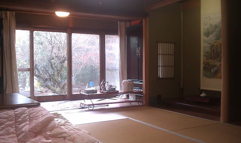 Old-fashioned room in kyoto japan - Kyoto - House