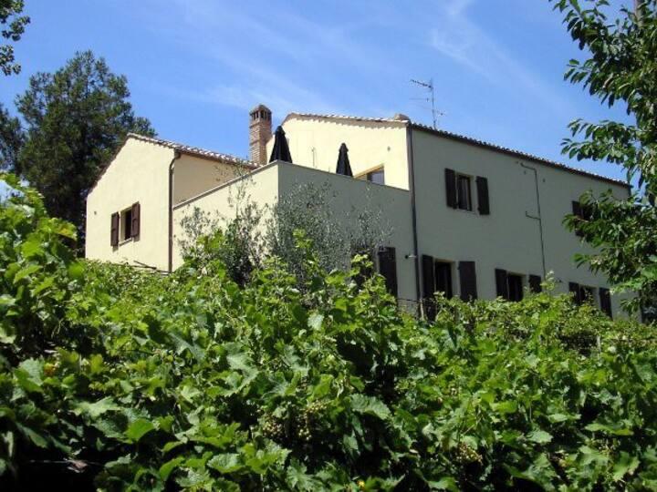Villa Cichetti, Atri, Abruzzo, Italy