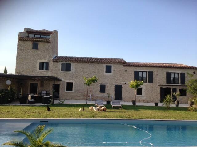 Magnifique mas provencal - Trets - House