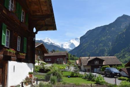 250 Year Old SwissChalet Interlaken - Gsteigwiler