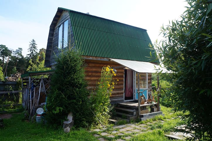 Дом с баней. 1 час езды от СПб. Большая Ижора.