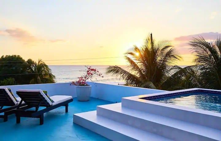 Sea Urchin | Mini Rooftop Villa in Treasure Beach
