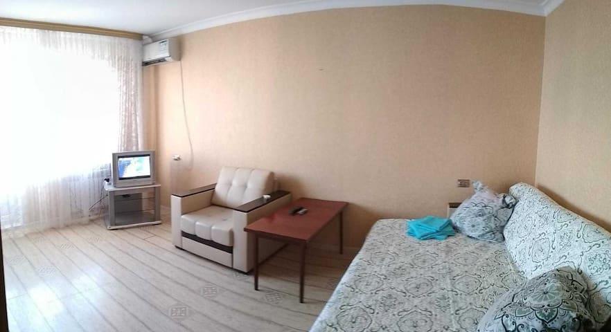 Квартира с видом на горы