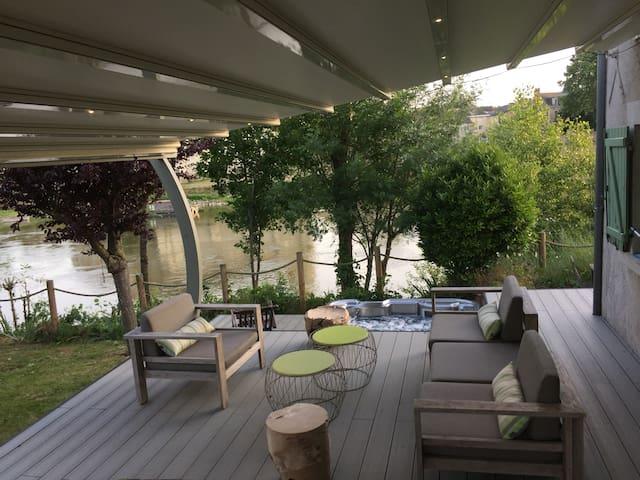 Maison de charme sur la Loire
