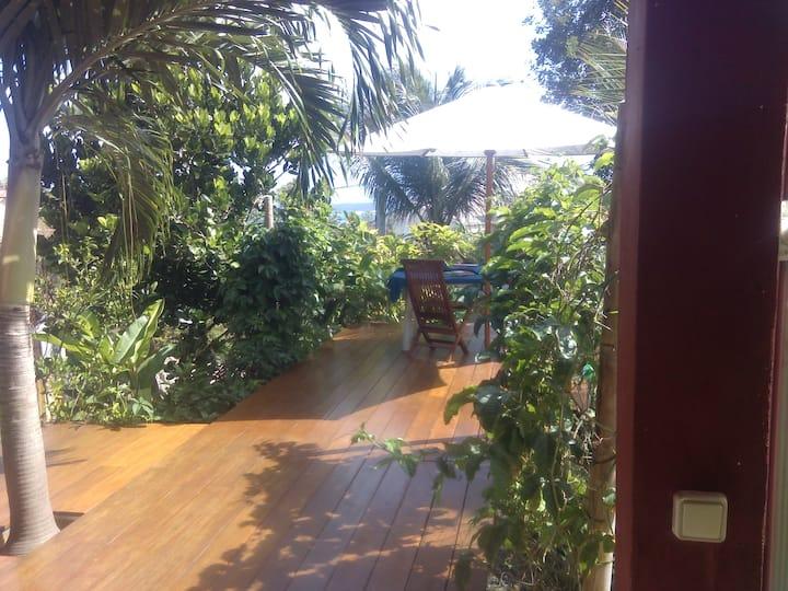 Chambre Spacieuse avec terrasse vue Mer au Moule