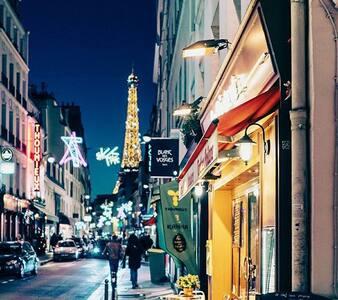 Cosy flat close to the Eiffel tower - Párizs - Lakás
