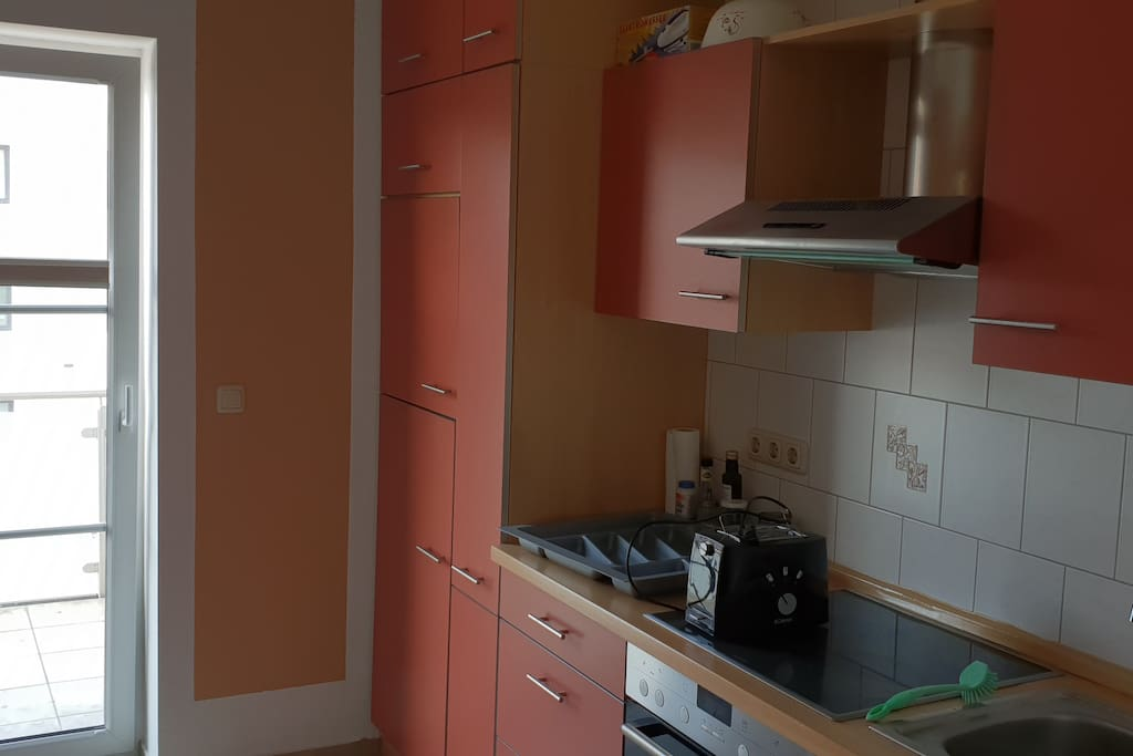 Fully equiped common kitchen