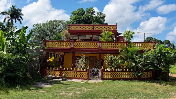 Hostal hacienda las columnas hab2