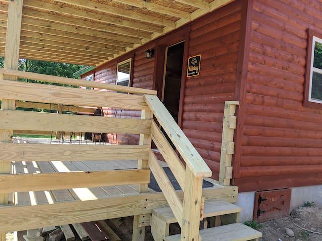 Kilday Cabin at Happiness Hills Farm