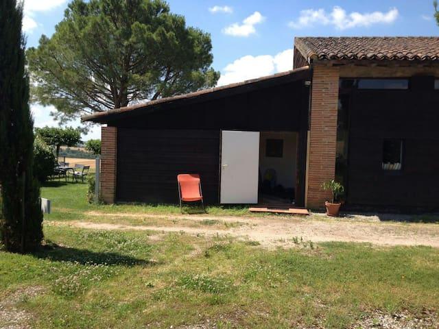 Appenti sur les coteaux du Lauragais, Toulouse - Baziège - Casa