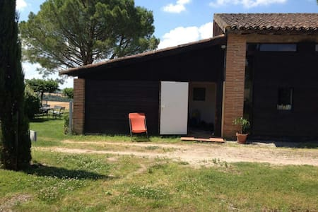 Appenti sur les coteaux du Lauragais, Toulouse - Baziège - Huis
