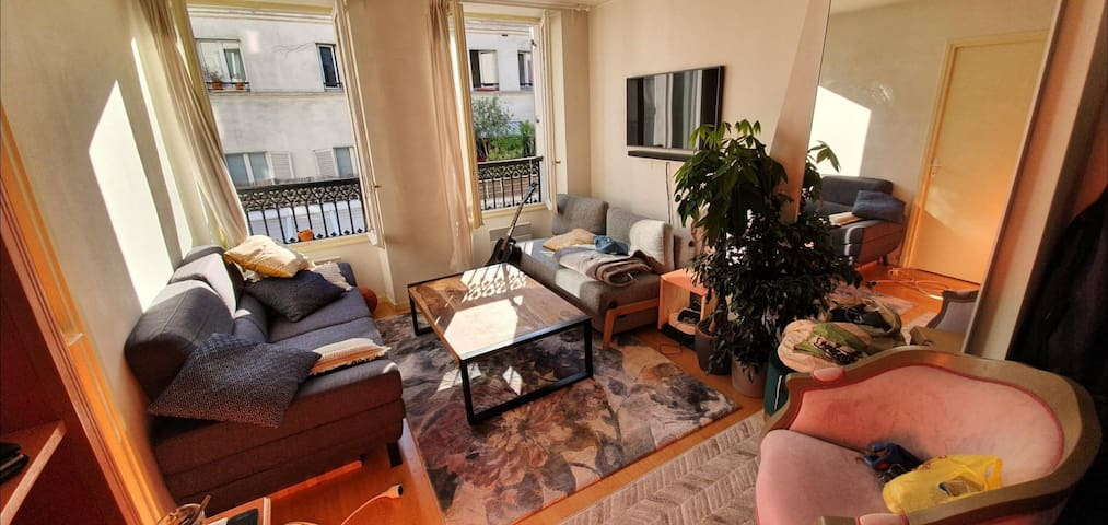 Cosy apartment in the heart of Paris (Goncourt)