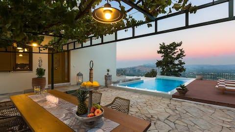 Villa Stariδe / family, seaview, heated pool