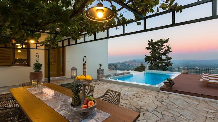 Villa Staride, Luxury, seaview, pool, serenity