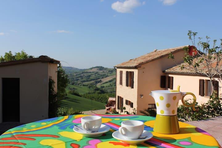 Bottega - Rustico Italien/Marken 30 km v. Ancona