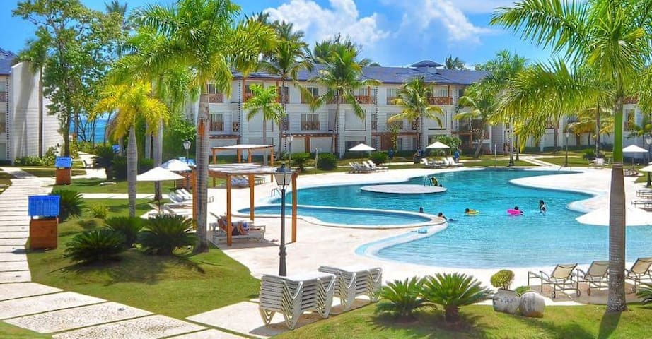 Deluxe Apartament (2) W/Beach and Restaurant - Puerto Plata - Huoneisto