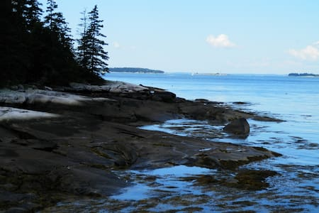 Waterfront Cottage - Harpswell - Hus