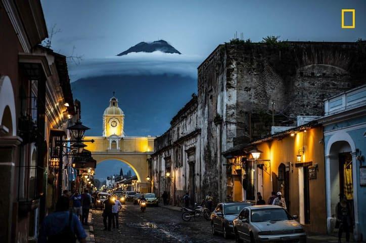 Antigua Guatemala's  serene place for R&R