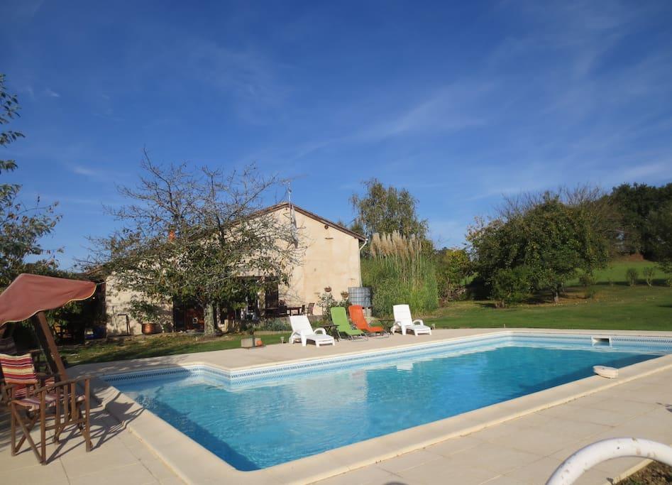 Bois de belivier a welcome retreat maisons louer for Piscine miramont de guyenne