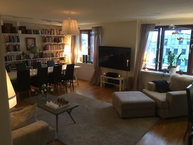 Modern apartment right in Stockholm city center