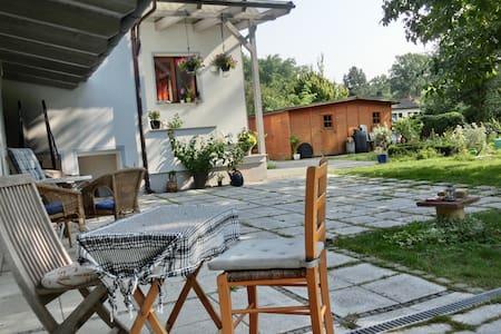 Unser Haus am grünen Berliner Stadtrand - Schönwalde-Glien - Casa