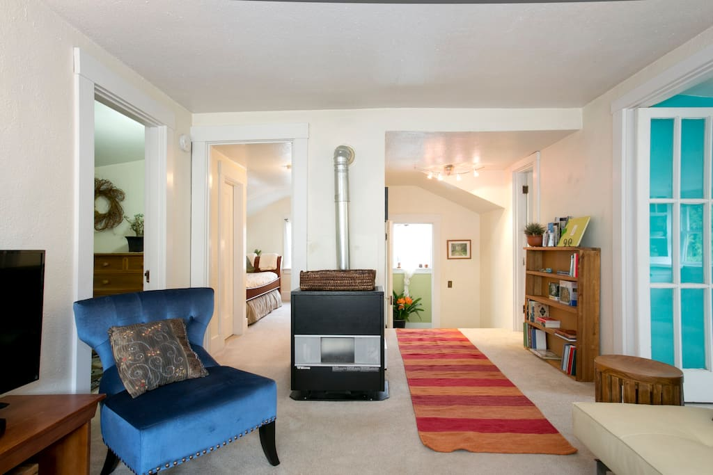 Gas Furnace makes the upstairs very cozy in the winter time.