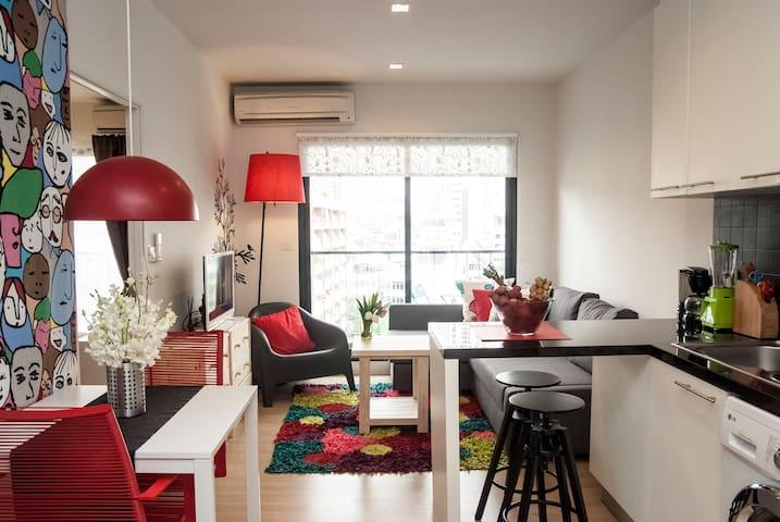 1 bedroom apartment, Center Bangkok