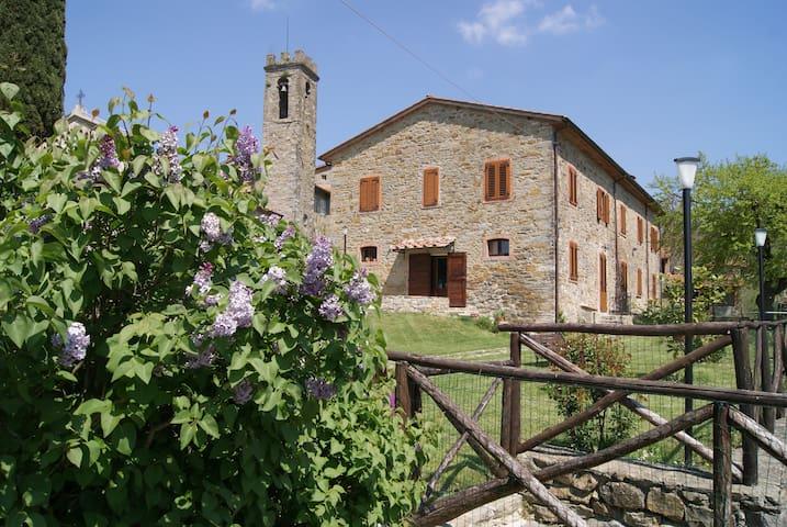 Romantic cosy flat - Toscana Italia - Subbiano - Apartemen