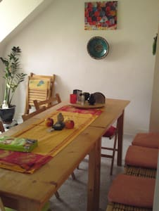 Quiet room in Gelnhausen /Frankfurt - Gelnhausen - Гестхаус