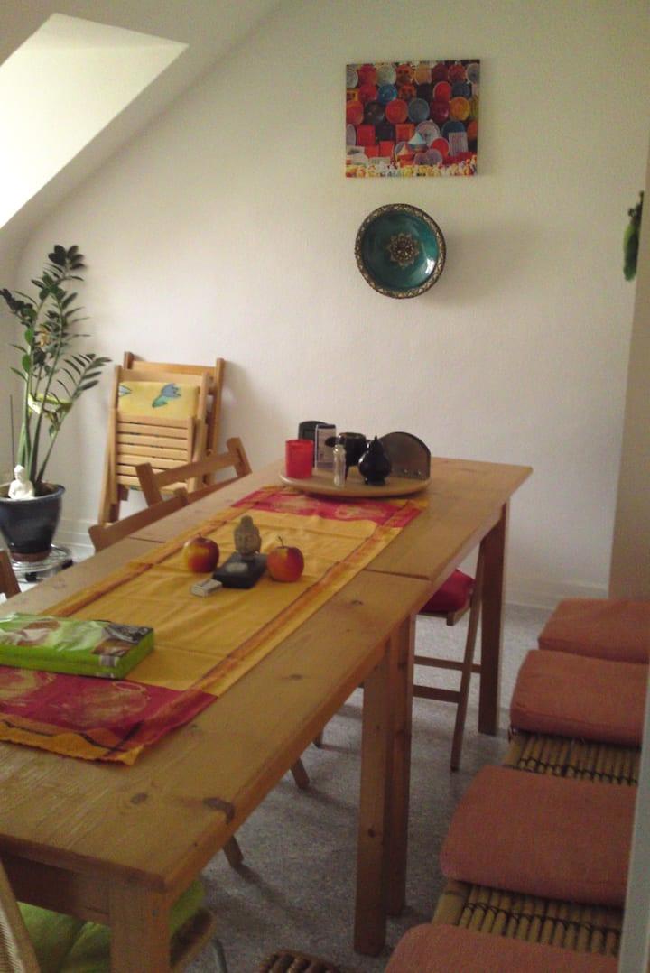 Ruhiges Zimmer Gelnhausen + Bad-u. Küchenbenutzung
