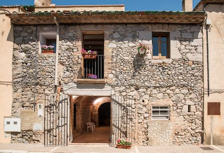 18th C Stone House near Costa Brava - Torroella de Fluvià - Ház