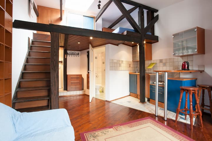 Cosy Loft with A/C, Old Town