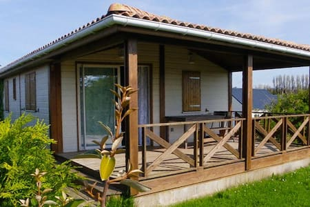 Maison agréable dans un parc de loisirs sécurisé - Grandcamp-Maisy - Chalupa