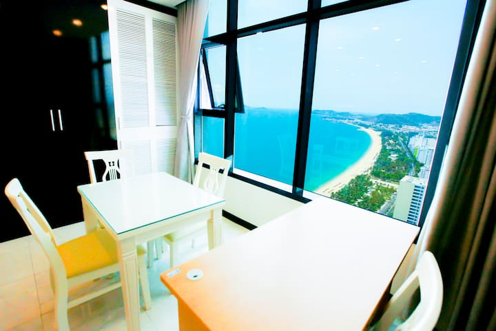LaBoo_Double Bed With Ocean view #45usd/nit - tp. Nha Trang - Apartamento