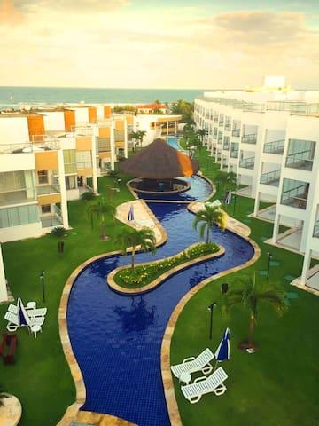 Apartamento no Condomínio Águas de Tabatinga
