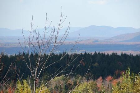 En montagne avec vue magnifique/Breathtaking view!