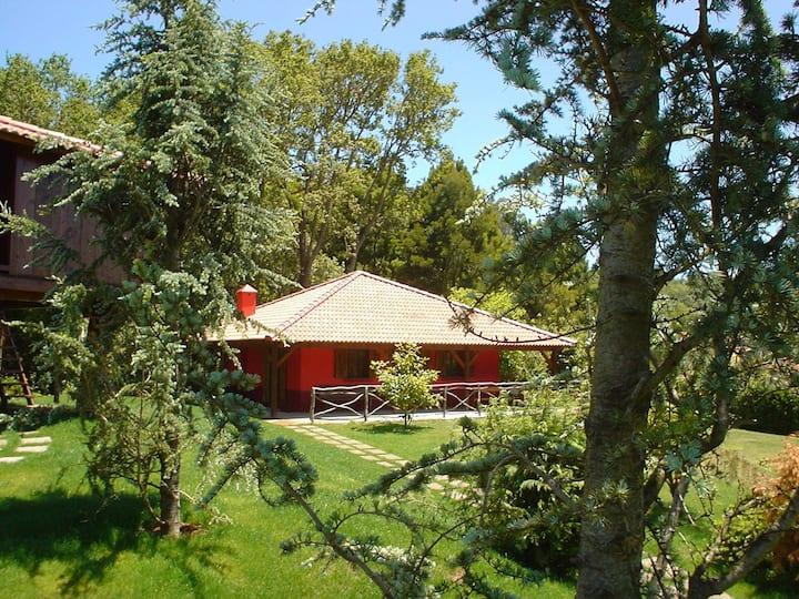 Casa Vermelha..a natureza e você