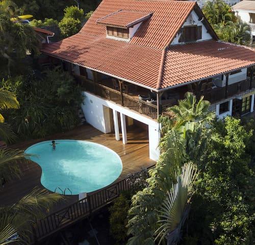 Kay Babou - villa avec vue, Case Pilote Martinique