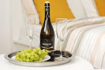 Each guest is special! Come and enjoy lovely apartment with bottle of Prosecco