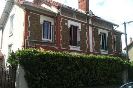 Large 4 bedroom house,close paris - Juvisy-sur-Orge - Rumah