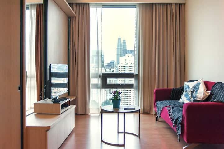 #19瑞园四星套房公寓 1R1B 吉隆坡市中心 N2702