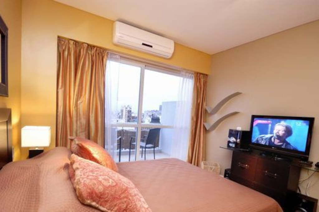 A/C and LCD TV
