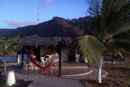 Caribbean House With Private Beach - Cartagena