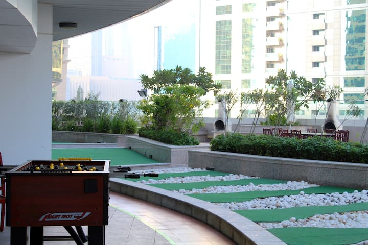 Foosball at the first floor