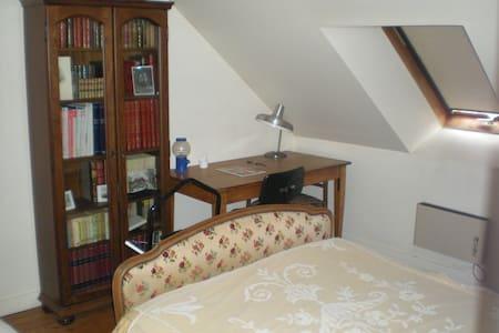 Chambre d'amis avec salle de bains  - Beauvais - Stadswoning